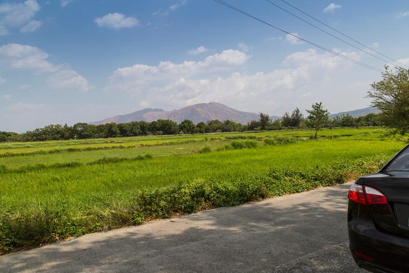 The area around Botolan, one hour drive north of Olongapo.