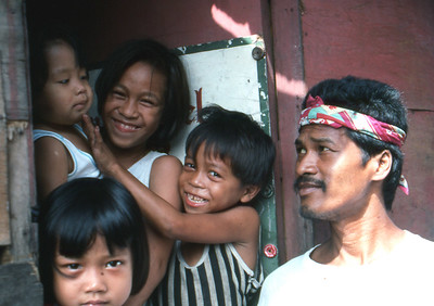 A family in Cebu.