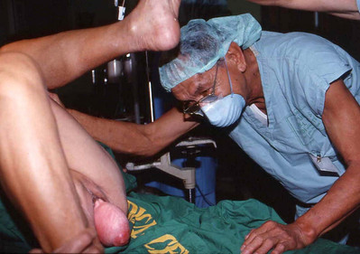 Uncle Jimmy thinks over this prolapsed uterus.