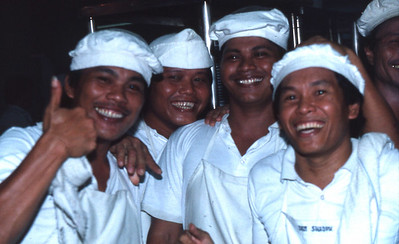 The kitchen staff.