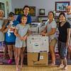 The packing team. BWong, JulieSy DianaVares-Lum, QuinnNakahara, AlliSakoda, ShihoHamamo, MarkGrief.