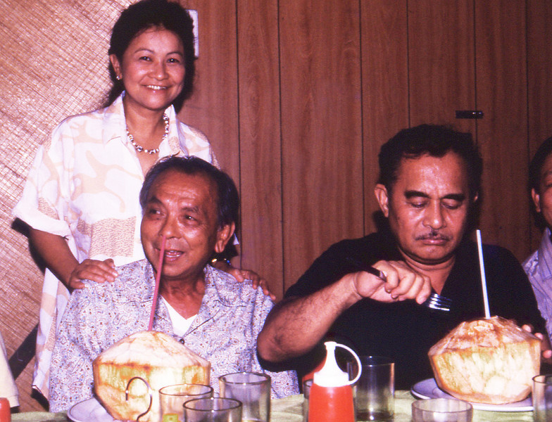 Elenita, Jimmy Wong, and Ernesto Espaldon.