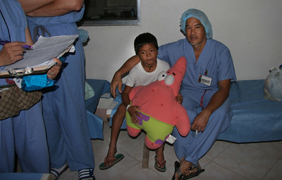 Another kid with a fixed hernia.
