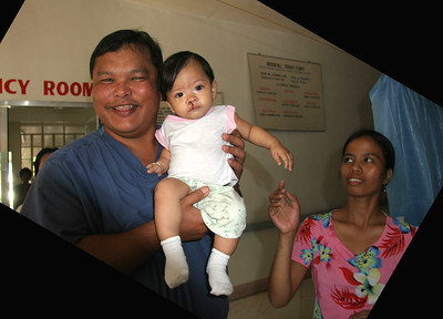 Fegurgur and a healed kid and happy mom.