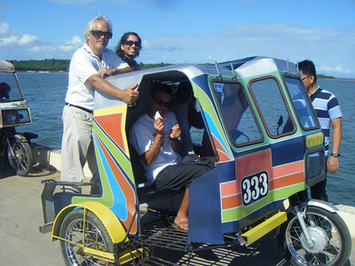 Our FAVORITE mode of transportation!