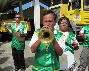 Talibon09 touring trumpeter