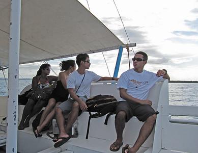 Talibon09 touring boat kids
