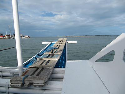 Talibon09 touring boat plank