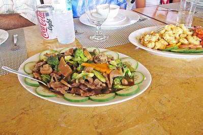 Talibon09 touring vegies for lunch