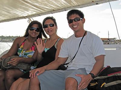 Talibon09 touring boat anita sweeney tim
