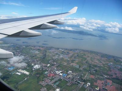 Landing in manila