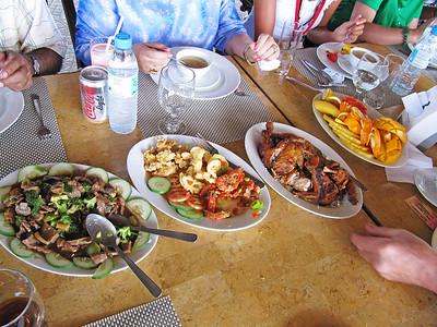 Talibon09 touring lunch in tagbilaran