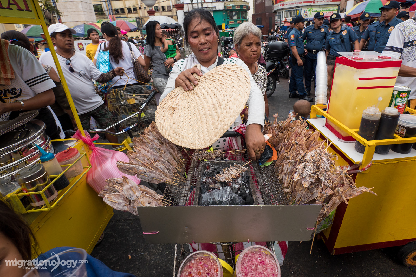 Filipino street food snacks