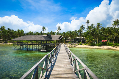 Siargao's Famous Boardwalk @ Cloud 9