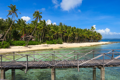 Beach from the boardwalk - Cloud 9, Siargao