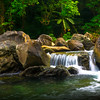 Small waterfall in Catanduanes, Bicol
