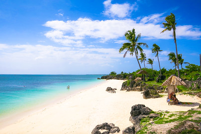 Stunning Beach on Bantayan Island, Cebu