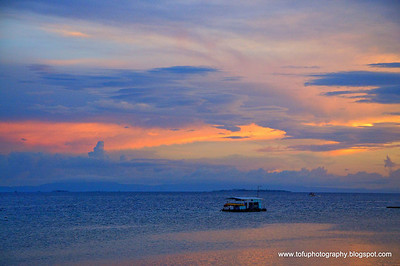 Mactan Island sunset - March 2009
