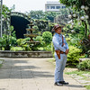 Guard at Puerta Real Garden Intramuros