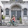 Biking with a Crutch