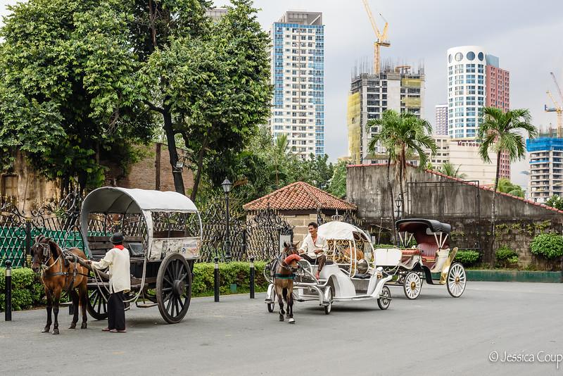 Carriage Rides Around Intramuros