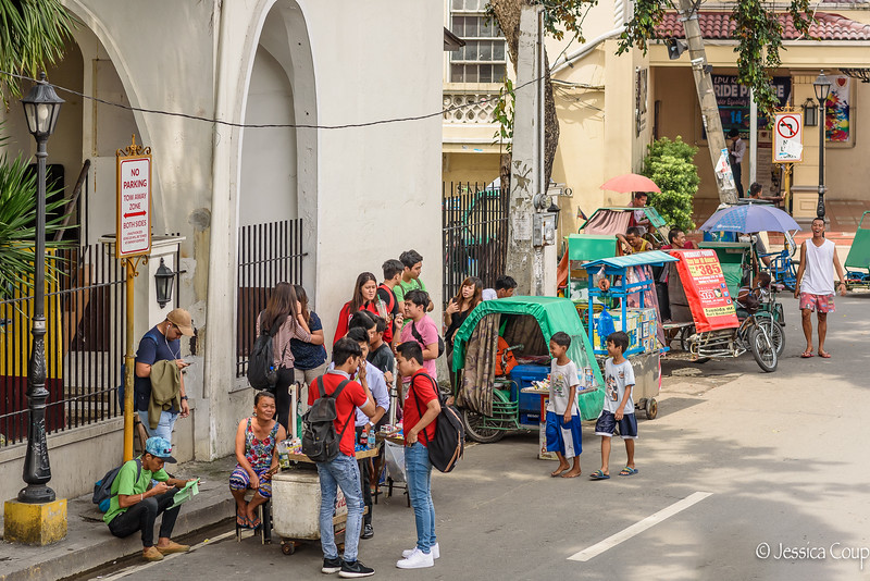 Life on the Corner in Intramuros