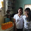 Mayleen Jdiche is a single mom who makes and sells soap to support her children.