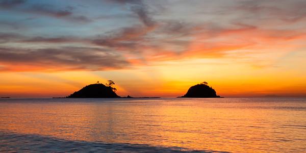 Twin Islands in the Sun
