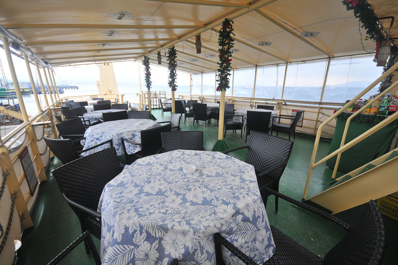 Dining Area on Hans Christian Andersen Philippines LIveaboard