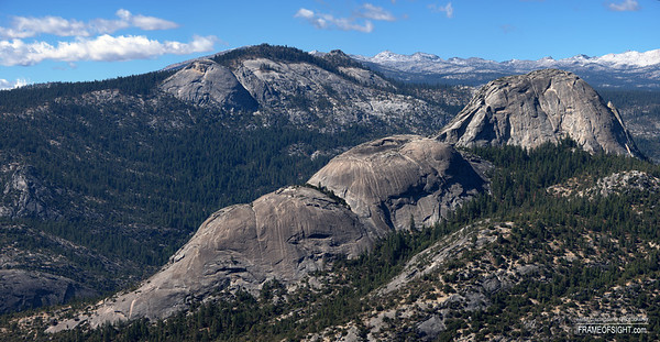 Balloon Dome in the California Sierra Mountains