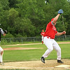 Phillies Pat Gilaian gets the 1st out of the game