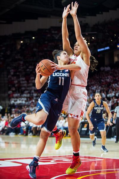 NCAA WOMEN'S BASKETBALL: No. 1 UConn vs. No. 3 Maryland
