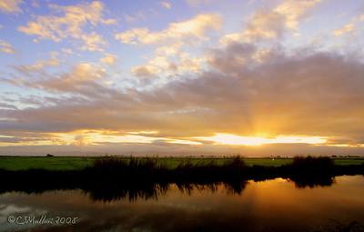 Golden Sunrise at Candaba