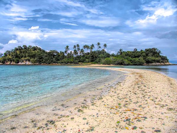 Snake Island near El Nido Resort, Phillippines
