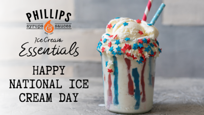HAPPY NATIONAL ICE CREAM DAY