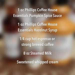 Pumpkin Spice Hazelnut Breve
