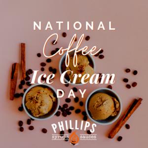 National Coffee Ice cream day insta