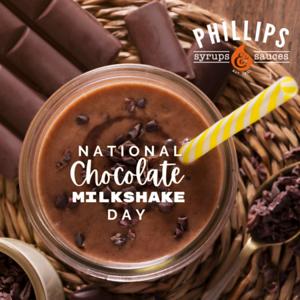 National Choc milkshake day insta