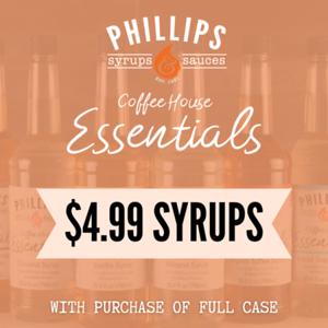 $4.99 Syrups Sept insta