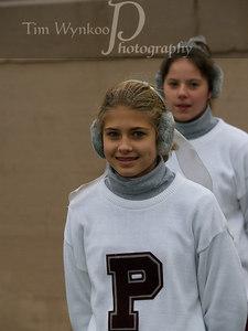 PHS J.V. Cheerleader, Brenna Lauer.