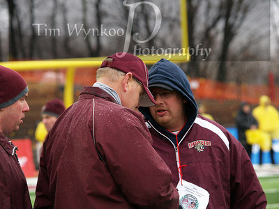 Phillipsburg High School Athletic Director, Tom Fisher in center of photo