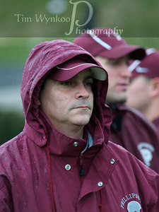 Phillipsburg's Running Back and Linerback Coach, Mike Echevarria