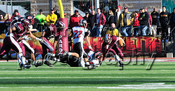 11/22/2012, Easton, PA: Phillipsburg vs Easton at Lafayette College's Fisher Field. First half.|