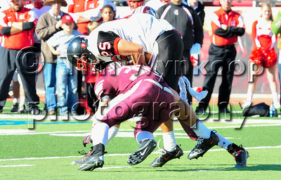 11/22/2012, Easton, PA: Phillipsburg vs Easton at Lafayette College's Fisher Field. First half.|