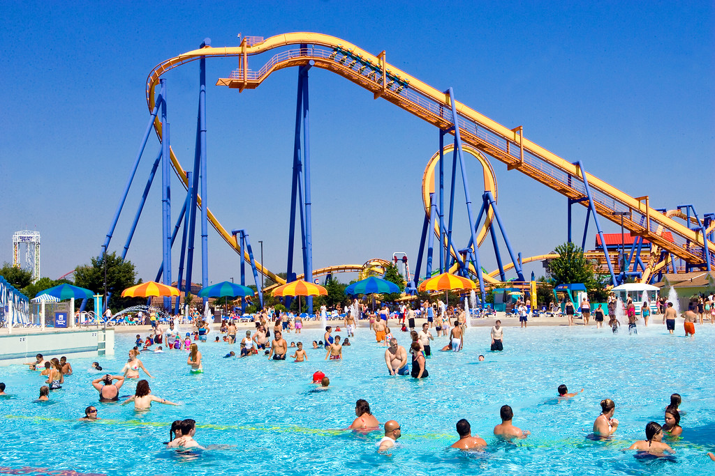 . Dorney Park & Wildwater Kingdom. Lehigh Valley, Pa.
