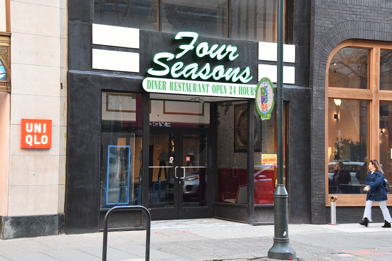 Four Seasons - a new diner opening soon 1600 block of Chestnut -2020
