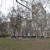 Rittenhouse Square in January