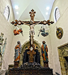 Crucifix and Angels