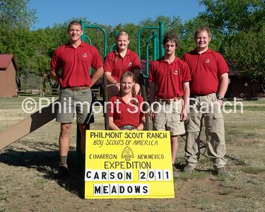 (Left to Right back row), Andrew Butler, Emily Megee, Thomas Starkey, Reece Blanton, (Front Row) Briana Howland