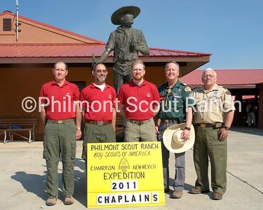 Norm Williams, Fr. Mike Wheelahan, Adam Carrico, Elder David Wilson, Danny Jones